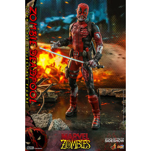 Hot toys Marvel: Zombie Deadpool 1:6 Scale Figure