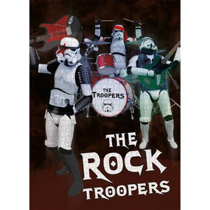 SD Toys Original Stormtrooper - The Rock Troopers - Puzzle 1000p