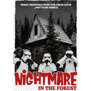 SD Toys Orginal Stormtrooper - Nightmare in the Forest - Puzzle 1000p
