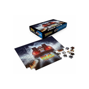 SD Toys Back To The Future - Puzzle 1000P - Delorean Out of Time