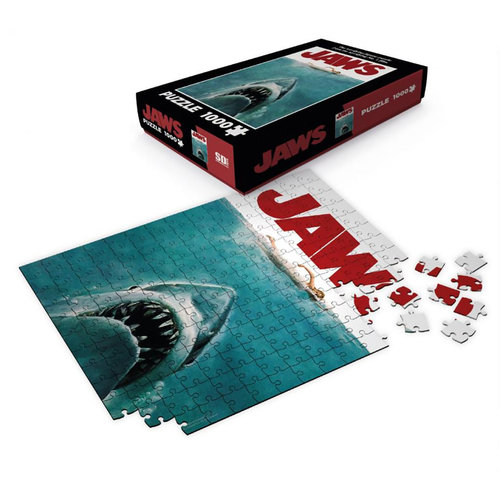 SD Toys Jaws - Puzzle 1000P - Movie Poster