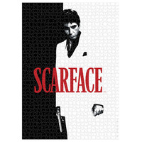 Scarface - Movie Poster - Puzzle 1000p