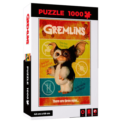 SD Toys Gremlins Puzzle There Are Three Rules - 1000p