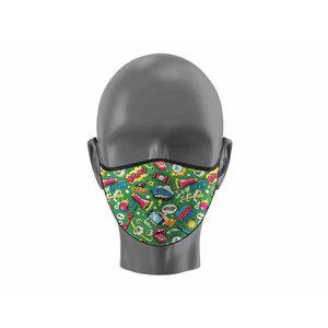 SD Toys Comic Book Onomatopoeia - Mouth Mask