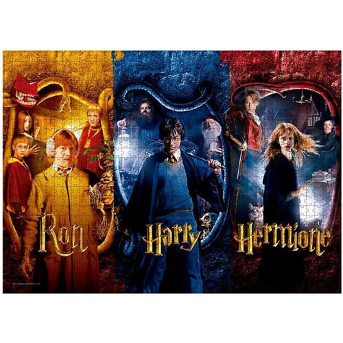 SD Toys Harry Potter - Harry, Ron & Hermione -Puzzle 1000p