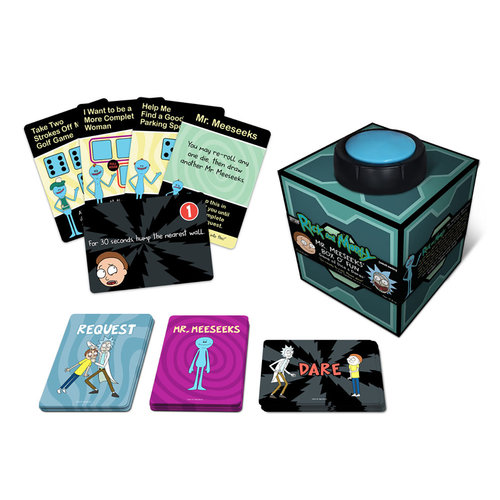 Cryptozoic Entertainment Rick and Morty: Mr. Meeseeks' Box o' Fun Dice and Dares Game