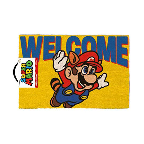 Hole In The Wall Super Mario Welcome - Doormat