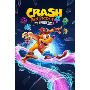 Hole In The Wall Crash Bandicoot 4 It's About Time Ride Maxi Poster