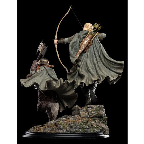 WETA Workshops Legolas and Gimli at Amon Hen