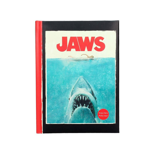 SD Toys Jaws: A5 Notebook with Light