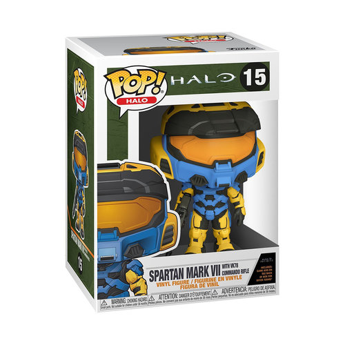 FUNKO Pop! Games: Halo Infinite - Spartan Mark VII with Commando Rifle Deco Version