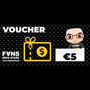 Gift-Voucher- € 5