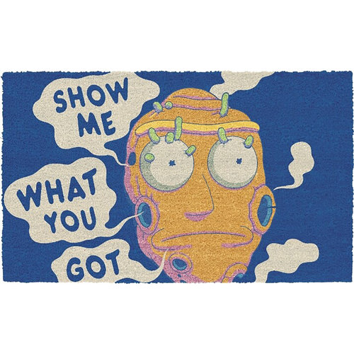 SD Toys Rick and Morty: Show Me What You Got 60 x 40 cm Doormat