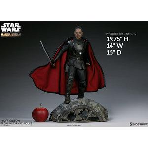 Sideshow Toys Star Wars: The Mandalorian - Moff Gideon Premium 1:4 Scale Statue