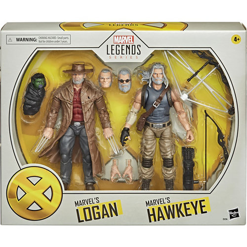 HASBRO Marvel Legends Series X-Men - Hawkeye and  Logan