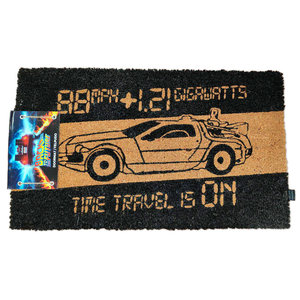 SD Toys Back To The Future: Time Machine Doormat