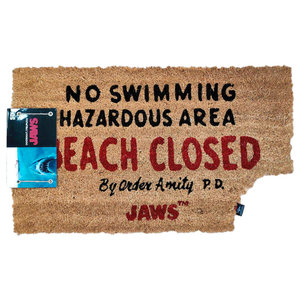 SD Toys Jaws Beach Closed Doormat