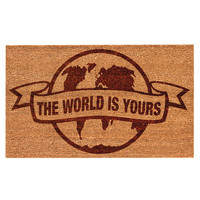 Scarface The World is Yours Doormat