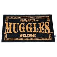 Harry Potter Muggles Welcome Doormat