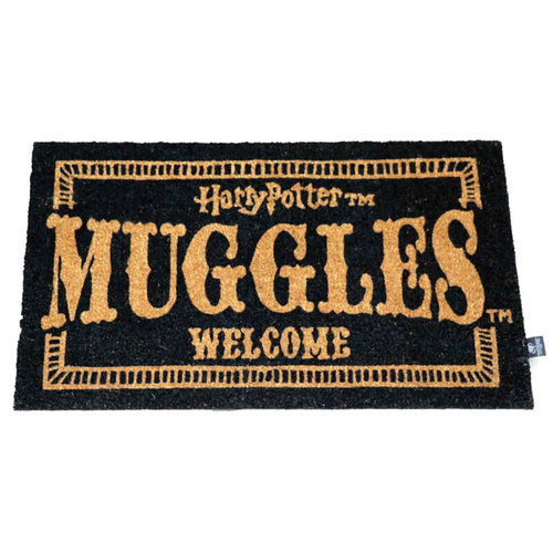 SD Toys Harry Potter Muggles Welcome Doormat