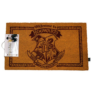 SD Toys Harry Potter Welcome to Hogwarts Doormat
