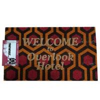 The Shining Welcome to Overlook Hotel Doormat