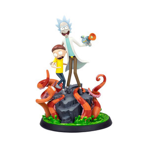 mondo Rick and Morty: Rick and Morty Statue