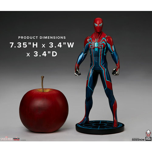 Pop Culture Shock Collectibles Marvel: Spider-Man Game - Spider-Man Velocity Suit 1:10 Scale Statue