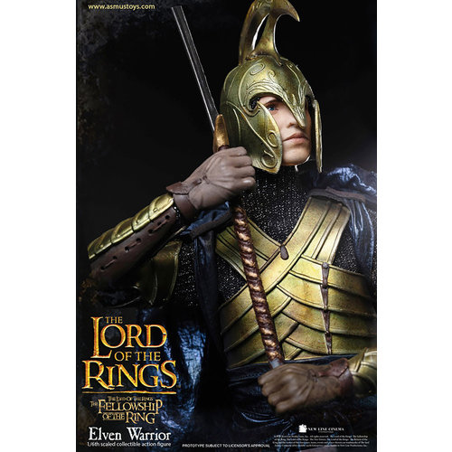 Sideshow Toys Lord of the Rings: Elven Warrior 1:6 Scale Figure