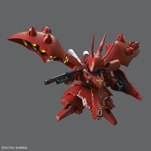Bandai Gundam Char's Counterattack: SD Gundam Cross Silhouette Nightingale Model Kit