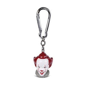 Hole In The Wall IT Pennywise Head Polyresin 3D Keyring