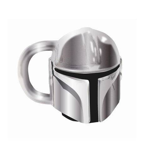Half Moon  Bay Star Wars: Electroplated Mandalorian Mini Mug