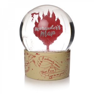 Half Moon  Bay Harry Potter: Marauder's Map Snow Globe