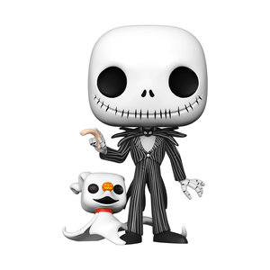 FUNKO Pop! Disney: Nightmare Before Christmas - 10 inch Jack with Zero
