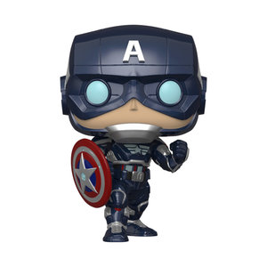 FUNKO Pop! Marvel: Avengers Game - Captain America