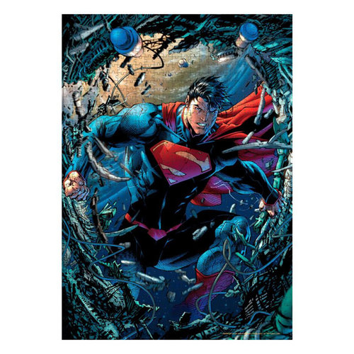SD Toys DC Comics Jigsaw Puzzle Superman Chatarra