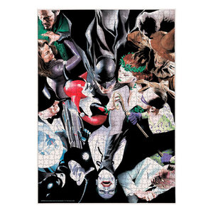 SD Toys DC Comics Jigsaw Puzzle Batman Enemies