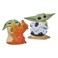 Star Wars: The Mandalorian - The Child Helmet Hiding and Stopping Fire Figure 2-Pack