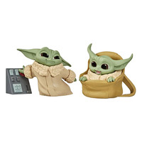 Star Wars: The Mandalorian - The Child Speeder Ride and Touching Buttons Figure 2-Pack