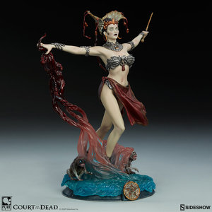 Sideshow Toys Court of the Dead PVC Statue Gethsemoni - Queens Conjuring 25 cm