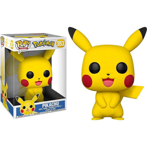 FUNKO Pop! Games: Pokemon - 10 inch Pikachu
