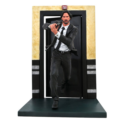 Diamond Direct John Wick Gallery: Running PVC Diorama