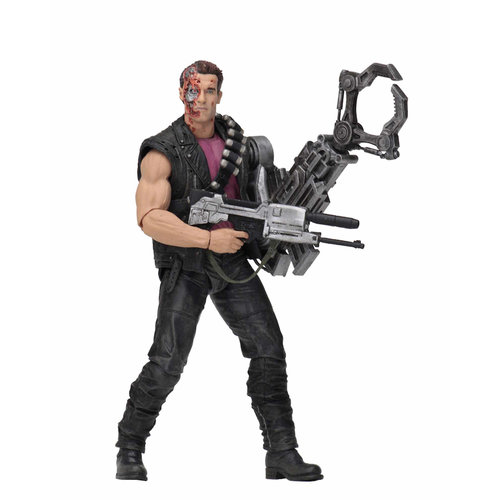 NECA Power Arm Terminator 2 Kenner Tribute Action Figure