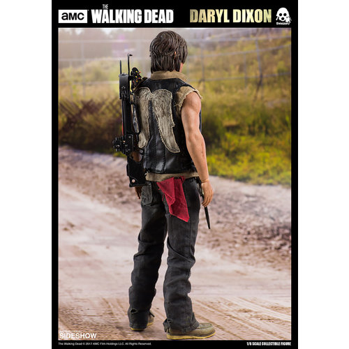 threezero The Walking Dead Daryl Dixon Collectible Figure