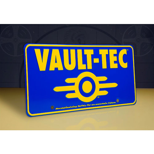 doctor collector Fallout: Vaul-Tec Metal Sign