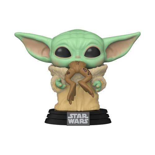 FUNKO Pop! Star Wars: Mandalorian - The Child with Frog