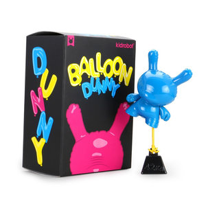 Kidrobot Dunny: Cyan 8 inch Balloon Dunny by Wendigo Toys