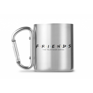 GB eye Friends: Logo Stainless Steel Carabiner Mug