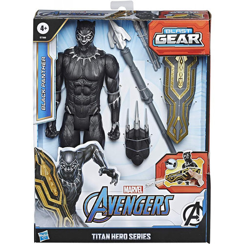 HASBRO Marvel: Avengers - Titan Hero Blast Gear Black Panther