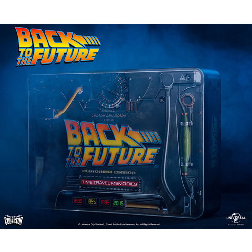 doctor collector Back To The Future: Time Travel Memories Kit Plutonium Edition